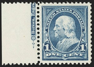 Sale Number 1166, Lot Number 867, 1894-98 Bureau Issues (Scott 246-284)1c Blue (264), 1c Blue (264)