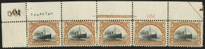 Sale Number 1166, Lot Number 904, 1901 Pan-American Issue (Scott 294-299)1c-10c Pan-American (294-299), 1c-10c Pan-American (294-299)