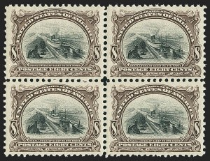Sale Number 1166, Lot Number 908, 1901 Pan-American Issue (Scott 294-299)8c Pan-American (298), 8c Pan-American (298)