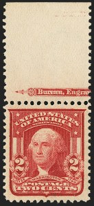 Sale Number 1166, Lot Number 931, 1902-08 Issues (Scott 300-320)2c Lake, Ty. II (319F; formerly 319f), 2c Lake, Ty. II (319F; formerly 319f)