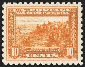 Sale Number 1166, Lot Number 990, 1913-15 Panama-Pacific Issue, Gems from the Vaquero Coll. (Scott 397-404)10c Panama-Pacific, Perf 10 (404), 10c Panama-Pacific, Perf 10 (404)