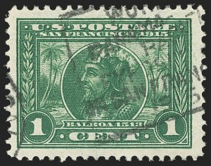 Sale Number 1166, Lot Number 995, 1913-15 Panama-Pacific Issue (Scott 397-404)1c Panama-Pacific (397), 1c Panama-Pacific (397)