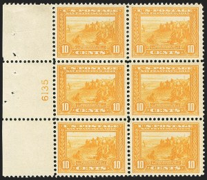 Sale Number 1166, Lot Number 999, 1913-15 Panama-Pacific Issue (Scott 397-404)10c Orange Yellow, Panama-Pacific (400), 10c Orange Yellow, Panama-Pacific (400)