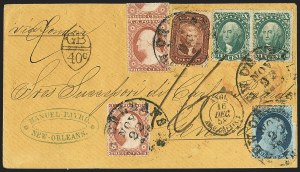Sale Number 1167, Lot Number 2301, 1857-60 Issue5c Bright Red Brown (28b), 5c Bright Red Brown (28b)