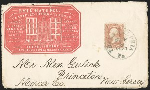 Sale Number 1167, Lot Number 2314, 1861-67 Issues3c Rose (65), 3c Rose (65)