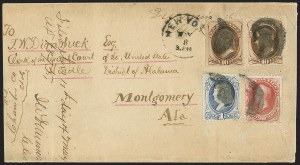 Sale Number 1167, Lot Number 2377, 1870-88 Bank Note Issues90c Rose Carmine (166), 90c Rose Carmine (166)
