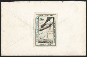 Sale Number 1169, Lot Number 3502, Aero Club of Canada (CLP1-CLP2)CANADA, 1918, (25c) Black & Red, Aero Club of Canada, Air Post Semi-Official (CLP1), CANADA, 1918, (25c) Black & Red, Aero Club of Canada, Air Post Semi-Official (CLP1)