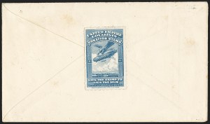 Sale Number 1169, Lot Number 3678, United Empire LoyalistsCANADA, 1918, Blue United Empire Loyalists Donation Stamp, CANADA, 1918, Blue United Empire Loyalists Donation Stamp