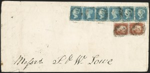 Sale Number 1170, Lot Number 4011, Great BritainGREAT BRITAIN, 1841, 2p Blue (4; SG 14), GREAT BRITAIN, 1841, 2p Blue (4; SG 14)