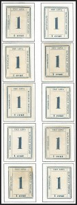 Sale Number 1172, Lot Number 1136, 1859-65 Numeral Issues, cont. (Scott 24-26)HAWAII, 1865, 1c Dark Blue (25), HAWAII, 1865, 1c Dark Blue (25)