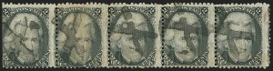 Sale Number 1172, Lot Number 531, 1861-68 Issues, 1875 Re-Issue (Scott 65-105)2c Black, E. Grill (87), 2c Black, E. Grill (87)