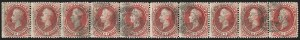 Sale Number 1172, Lot Number 559, 1870-88 Bank Note Issues (Scott 134-228)90c Carmine (155), 90c Carmine (155)