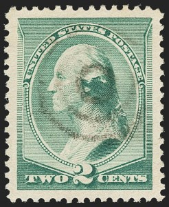 Sale Number 1172, Lot Number 565, 1870-88 Bank Note Issues (Scott 134-228)2c Green (213), 2c Green (213)