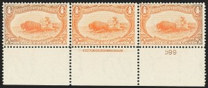 Sale Number 1172, Lot Number 591, 1898 Trans-Mississippi Issue (Scott 285-293)4c Trans-Mississippi (287), 4c Trans-Mississippi (287)