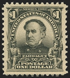 Sale Number 1172, Lot Number 616, 1902-08 Issues (Scott 300-320)$1.00 Black (311), $1.00 Black (311)