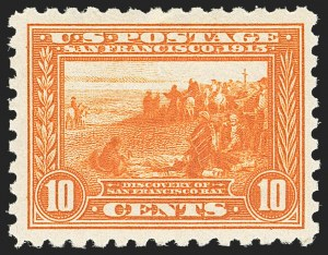 Sale Number 1172, Lot Number 694, 1913-15 Panama-Pacific Issue (Scott 397-404)10c Panama-Pacific, Perf 10 (404), 10c Panama-Pacific, Perf 10 (404)