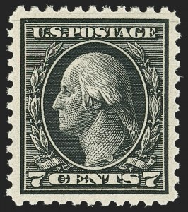 Sale Number 1172, Lot Number 816, 1917-19 Issues (Scott 481-524)7c Black (507), 7c Black (507)