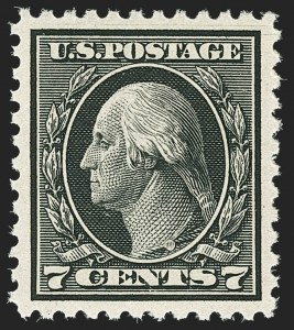 Sale Number 1172, Lot Number 817, 1917-19 Issues (Scott 481-524)7c Black (507), 7c Black (507)