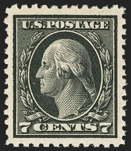 Sale Number 1172, Lot Number 818, 1917-19 Issues (Scott 481-524)7c Black (507), 7c Black (507)