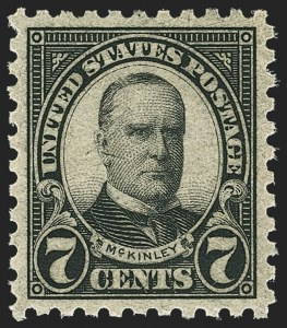 Sale Number 1172, Lot Number 837, 1922 and Later Issues7c Black, Perf 10 (588), 7c Black, Perf 10 (588)