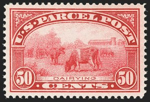 Sale Number 1172, Lot Number 935, Special Delivery thru Parcel Post50c Parcel Post (Q10), 50c Parcel Post (Q10)