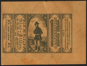 Sale Number 1173, Lot Number 2186, Dr. George W. Swett thru S.R. Van DuzerU.S. Proprietary Medicine Co., 1c Black on Orange Red Wrapper, Silk Paper (RS248b), U.S. Proprietary Medicine Co., 1c Black on Orange Red Wrapper, Silk Paper (RS248b)
