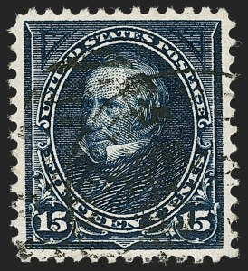 Sale Number 1174, Lot Number 116, 1894-98 Bureau Issues (Scott 246-283)15c Dark Blue (274), 15c Dark Blue (274)