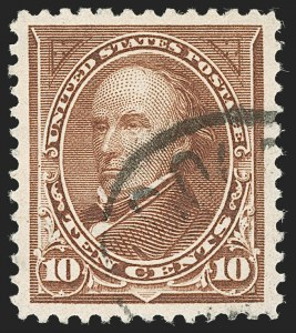Sale Number 1174, Lot Number 122, 1894-98 Bureau Issues (Scott 246-283)10c Brown, Ty. I (282C), 10c Brown, Ty. I (282C)