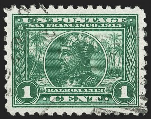 Sale Number 1174, Lot Number 176, 1913-15 Panama-Pacific Issue (Scott 397-404)1c Panama-Pacific, Perf 10 (401), 1c Panama-Pacific, Perf 10 (401)
