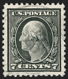Sale Number 1174, Lot Number 214, 1917-22 Issues (Scott 498-544)7c Black (507), 7c Black (507)