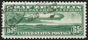 Sale Number 1174, Lot Number 262, Air Post65c Graf Zeppelin (C13), 65c Graf Zeppelin (C13)