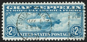 Sale Number 1174, Lot Number 270, Air Post$2.60 Graf Zeppelin (C15), $2.60 Graf Zeppelin (C15)
