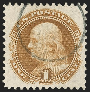 Sale Number 1174, Lot Number 56, 1869 Pictorial Issue and Re-Issue (Scott 112-123)1c Buff, Re-Issue (123), 1c Buff, Re-Issue (123)