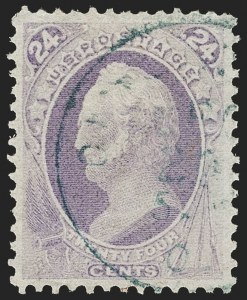 Sale Number 1174, Lot Number 57, 1870-88 Bank Note Issues (Scott 134-218)24c Purple (153), 24c Purple (153)