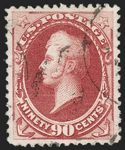 Sale Number 1174, Lot Number 63, 1870-88 Bank Note Issues (Scott 134-218)90c Carmine (191), 90c Carmine (191)