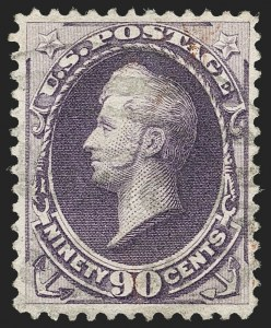 Sale Number 1174, Lot Number 69, 1870-88 Bank Note Issues (Scott 134-218)90c Purple (218), 90c Purple (218)