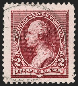Sale Number 1174, Lot Number 71, 1890-93 Issue (Scott 219-229)2c Lake (219D), 2c Lake (219D)