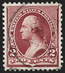 Sale Number 1174, Lot Number 72, 1890-93 Issue (Scott 219-229)2c Lake (219D), 2c Lake (219D)