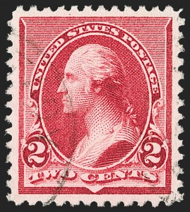Sale Number 1174, Lot Number 73, 1890-93 Issue (Scott 219-229)2c Carmine (220), 2c Carmine (220)
