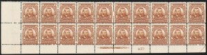 Sale Number 1175, Lot Number 592, 1902-08 Issues (Scott 300-320)4c Brown (303), 4c Brown (303)