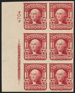 Sale Number 1175, Lot Number 603, 1902-08 Issues (Scott 300-320)1c-2c 1902-08 Issues, Imperforate (314, 320b, 320A), 1c-2c 1902-08 Issues, Imperforate (314, 320b, 320A)