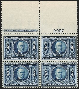 Sale Number 1175, Lot Number 611, 1904 Louisiana Purchase, 1907 Jamestown Issues (Scott 323-330)5c Louisiana Purchase (326), 5c Louisiana Purchase (326)