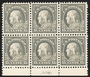 Sale Number 1175, Lot Number 721, 1917-19 Issues (Scott 481-524)15c Gray (514), 15c Gray (514)