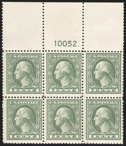 Sale Number 1175, Lot Number 736, 1918-20 Offset Printing Issues (Scott 525-536)1c Gray Green (536), 1c Gray Green (536)