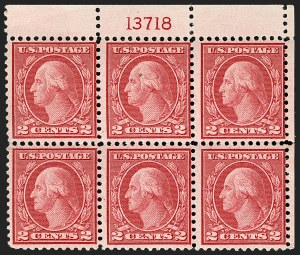 Sale Number 1175, Lot Number 741, 1919-20 Issues (Scott 537-550)2c Carmine Rose, Ty. III, Rotary (546), 2c Carmine Rose, Ty. III, Rotary (546)