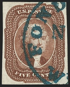 Sale Number 1179, Lot Number 2110, 5c-12c 1851-56 Issue (Scott 12-17)5c Red Brown (12), 5c Red Brown (12)