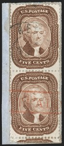 Sale Number 1179, Lot Number 2132, 1857-60 Issue (Scott 18-39)5c Brown (29), 5c Brown (29)