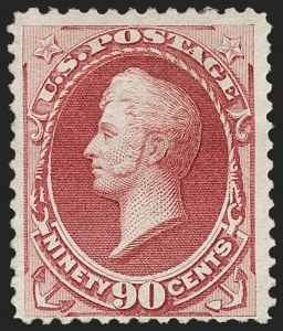 Sale Number 1179, Lot Number 2210, 1870-88 Bank Note Issues (Scott 134-218)90c Carmine (155), 90c Carmine (155)
