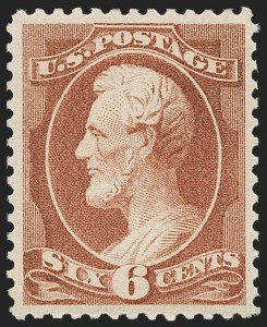 Sale Number 1179, Lot Number 2223, 1870-88 Bank Note Issues (Scott 134-218)6c Deep Brown Red (208a), 6c Deep Brown Red (208a)