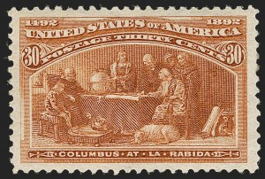 Sale Number 1179, Lot Number 2250, 1c-50c 1893 Columbian Issue (Scott 230-240)30c Columbian (239), 30c Columbian (239)